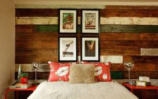 Обшивка стен доской