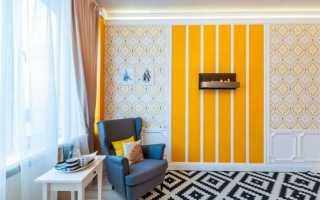 Стены в полоску – дизайн интерьера