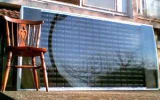 Солнечный коллектор для дома