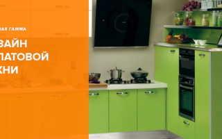 Салатовая кухня в интерьере для поднятия весеннего поздравления