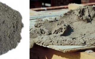 Саморасширяющиеся цементы – представлены специальные строительные смеси