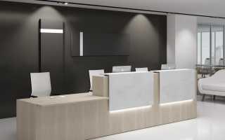 Офисное пространство – зонирование