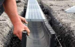 Как сделать ливневую канализацию своими руками?