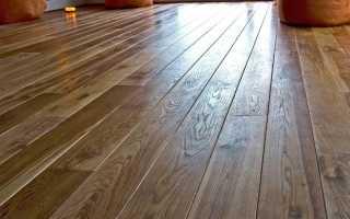 Стелим деревянные полы