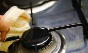 Как очистить решетку газовой плиты своими руками?