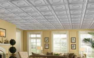 Клеевые потолки для комнаты