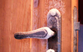 Утепление дверей