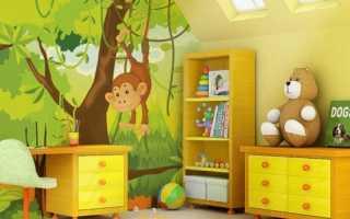Дельные советы в выборе обоев для детской комнаты