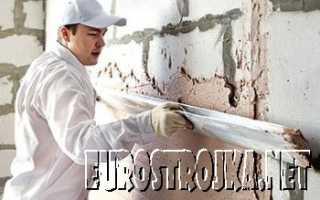 Вяжущие компоненты для штукатурных работ стен