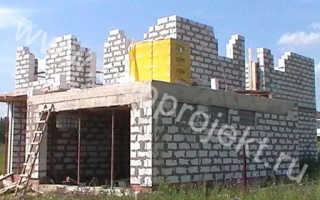 Стены из газосиликата
