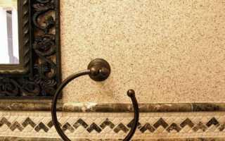 Штукатурка с каменной крошкой – разнообразие материалов и приготовление раствора
