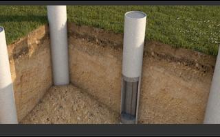 Свайные фундаменты применяемые в малоэтажном строительстве