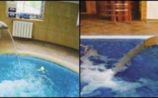 Устройство бассейна в доме