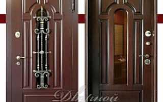 Двери входные наружные