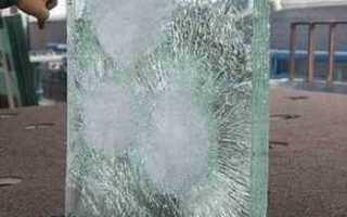Защита стеклянных конструкций