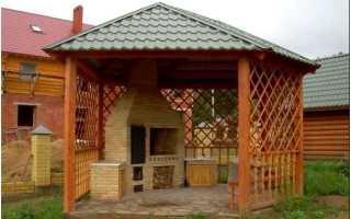 Крыша для беседки – надежная защита в жару и дождливую погоду