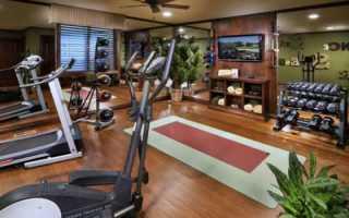Домашний спортзал – обустройство