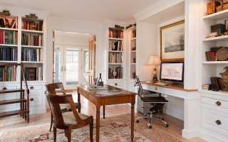 Обустройство домашнего офиса либо кабинета