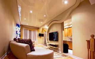 Натяжные потолки вред и польза
