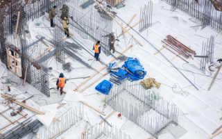 Влияние погодных условий на бетон