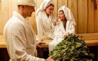 Семейная баня для загородного дома