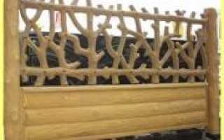 Забор: описание и фото