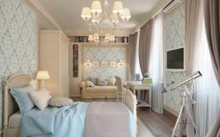 Классическая детская спальня