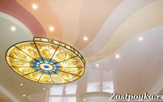 Натяжные потолки – свойства и особенности