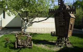 Декоративные ветрячки – интерьер и украшение для сада
