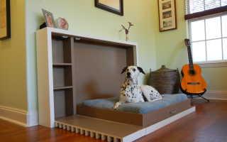 Подъемная кровать для экономии пространства
