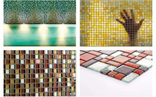 Выбираем стеклянную мозаику
