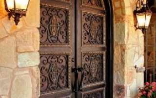 Художественная ковка для дверей