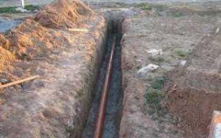 Методы прокладки полипропиленовых труб в земле