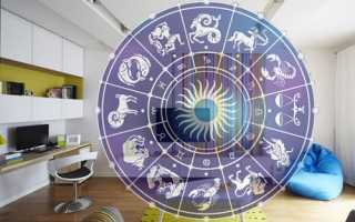 Интерьер для знака зодиака