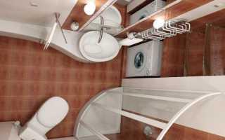 Как сэкономить место в ванной