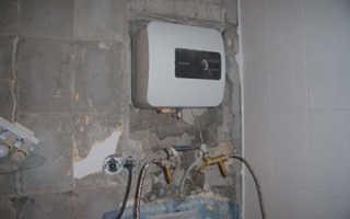 Установить водонагреватель проточный электрический