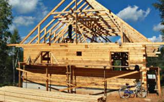 Несущие конструкции для дома из древесины