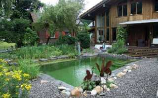 Бассейн у дома практично и удобно