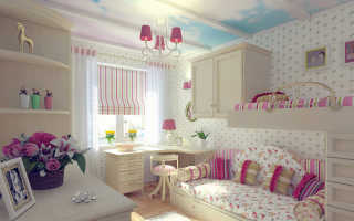 Дизайн комнаты молодой девушки