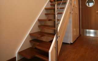 Лестница гусиный шаг своими руками