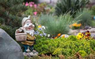 Изготовления раствора для садовых скульптур своими руками