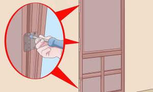 Что делать если дверь задевает пол?
