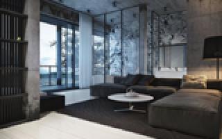 Современный квартирный интерьер от Игоря Сиротова