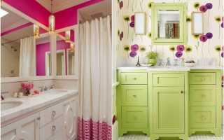 Весна в дизайне ванных комнат