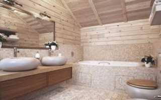 Гидроизоляция ванны в деревянном доме
