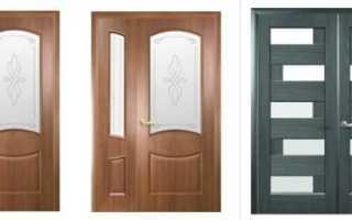 Межкомнатные двери двухстворчатые