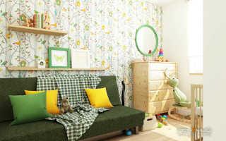 Детская комната от 0 до 7