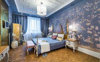Дизайн обоев в комнате