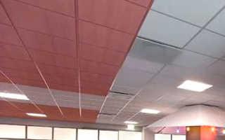 Минераловолокнистые и минераловатные плиты для потолка