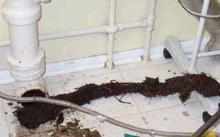 Факторы прочистки канализации